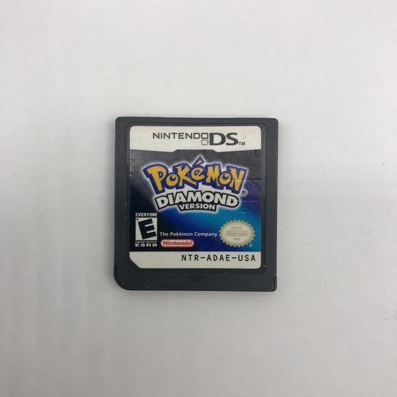 Pokémon Diamond Version Nintendo 3ds Ds Original Americano