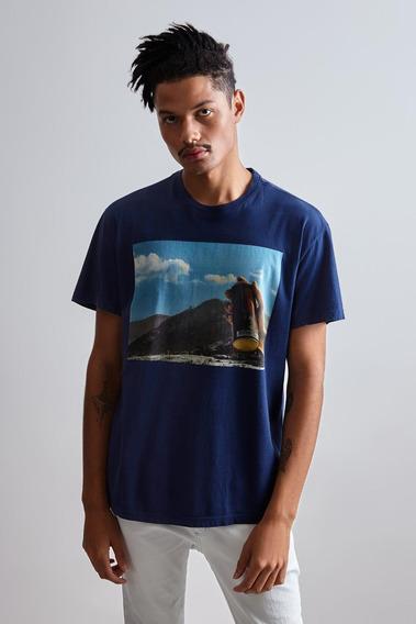 Camiseta Pf Estampada Jet Sky Reserva