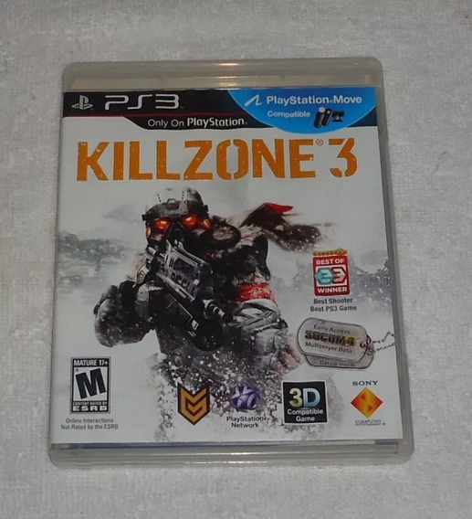 Killzone 3 Ps3 Português * Leia