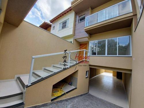 Imagem 1 de 27 de Sobrado Com 3 Dormitórios À Venda, 210 M² Por R$ 700.000,00 - Conjunto Residencial Vista Verde - São Paulo/sp - So0895