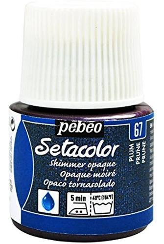 Pebeo Setacolor Pintura Opaca De Tela Botella De 45 Mililitr