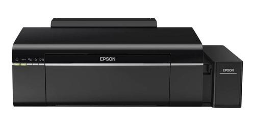 Imagen 1 de 4 de Impresora a color fotográfica Epson EcoTank L805 con wifi negra 220V
