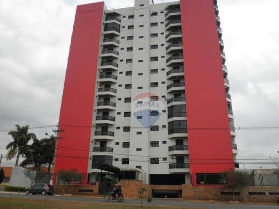Ótimo Apartamento A Venda Ou Locação, No Centro De Sumaré Com 3 Dormitórios, 2 Sacadas, 2 Vagas De Garagem, Rico Em Armários - Ap0154