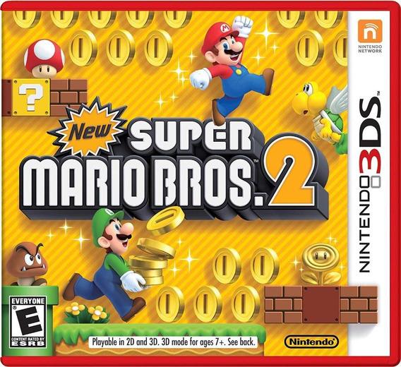 New Super Mario Bros 2 3ds Mídia Física Novo Original