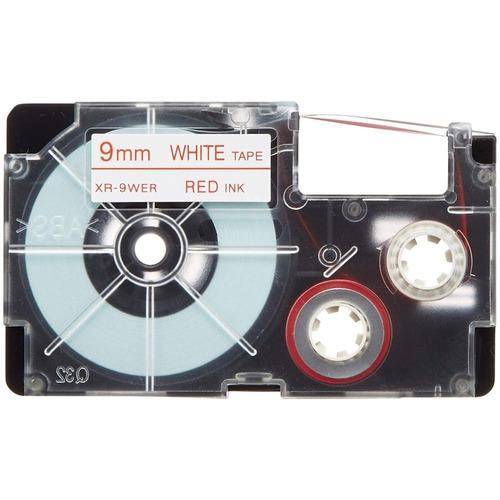 Imagen 1 de 2 de Paquete De 5 Cintas Para Rotulador Casio Xr-9wer1 9mmx8m