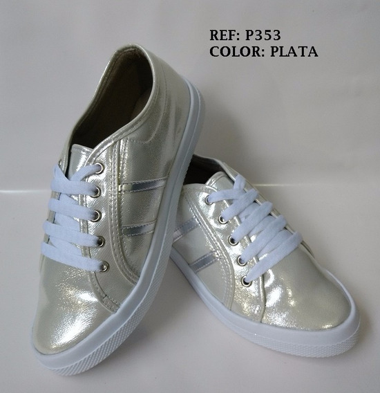 Deportivo Pisahuevo Zapato Dama Calzado Juvenil Envío Gratis