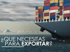 Quieres Exportar Productos Nacionales Al Exterior