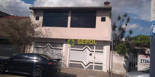 Sobrado Com 3 Dormitórios À Venda Por R$ 580.000 - Jardim Mitsutani - São Paulo/sp - So0420