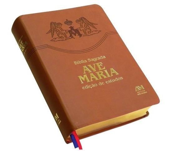 Bíblia Sagrada Edição Estudo Ed.ave Maria