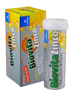 Biovita Zinco + Vitamina C 10 Comprimidos Efervescentes