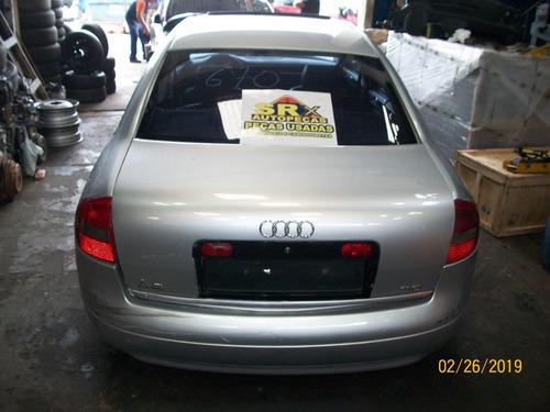 Sucatas Audi A6 3.0 V6 Gas Aut 218cv 2002 Retirada De Peças