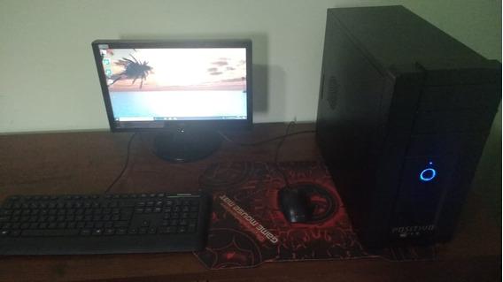 Computador + Monitor + Teclado E Mouse
