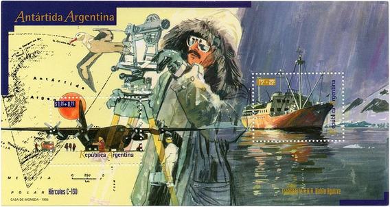 Argentina 1995 Gj 2708/09 Hb 109** Mint Barcos Antártida A