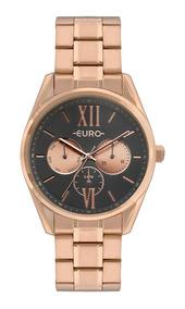 Relógio Euro Feminino Rosé Eu6p79ae/4c