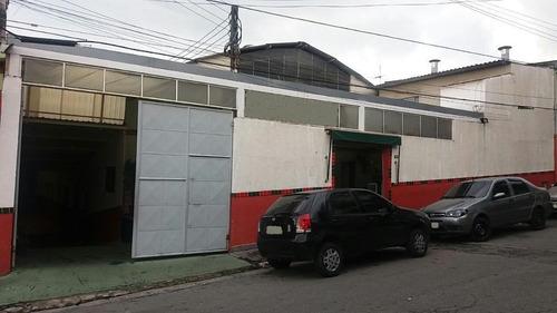 Galpão Comercial À Venda, Vila Ema, São Paulo. - Ga0332