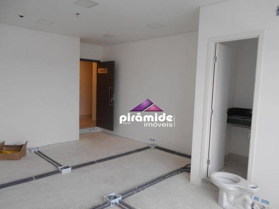 Sala Para Alugar, 32 M² Por R$ 1.600,00/mês - Jardim Aquarius - São José Dos Campos/sp - Sa0630