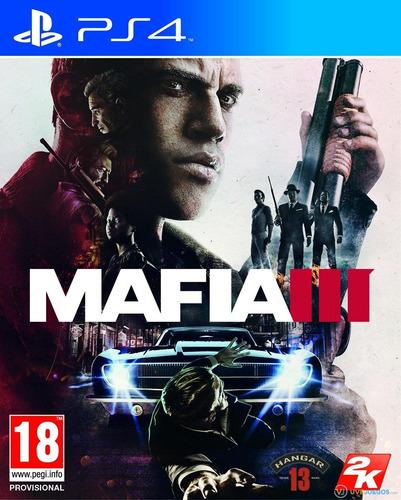 Mafia 3 Ps4 Físico (usado En Perfecto Estado)