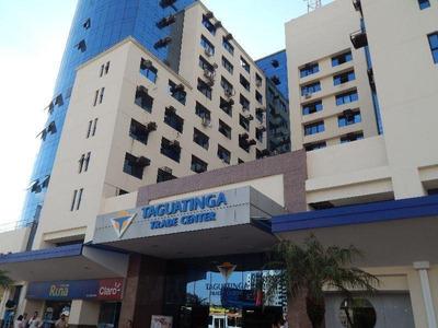 Sala Comercial Para Locação Em Ra Iii Taguatinga, Edifício Taguatinga Trade Center, 1 Banheiro - 036
