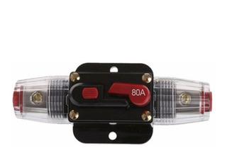 Fusible Interruptor Eléctrico Solar Automotriz 12v Dc 80a
