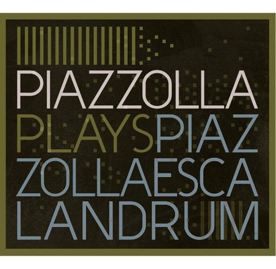 Escalandrum Plays Piazzolla Vinilo Doble 2 Lp Nuevo