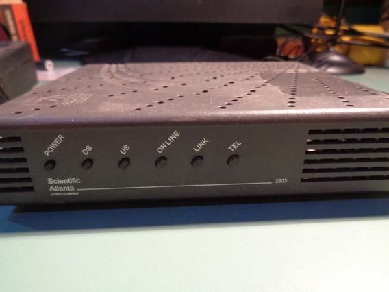 Cable Módem Cisco Scientific Atlanta Dpc2203 Usado Funciona