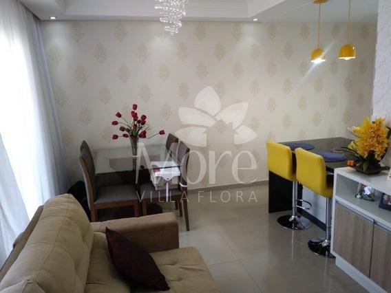 Lindo Apartamento Modelo Camila, 3 Quartos, Sendo 1 Suíte, À Venda Em Villa Flora Sumaré Sp! Excelente Acabamento, Apartamento Pronto Para Morar! - Ap00241 - 32618267