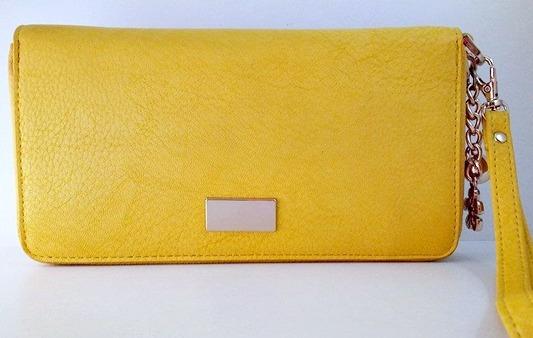 Carteira Feminina - Amarela