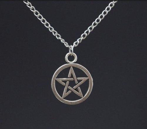Colar Supernatural - Pentagrama