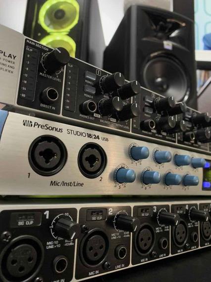 Interface De Audio Presonus Studio 1824usb Usada
