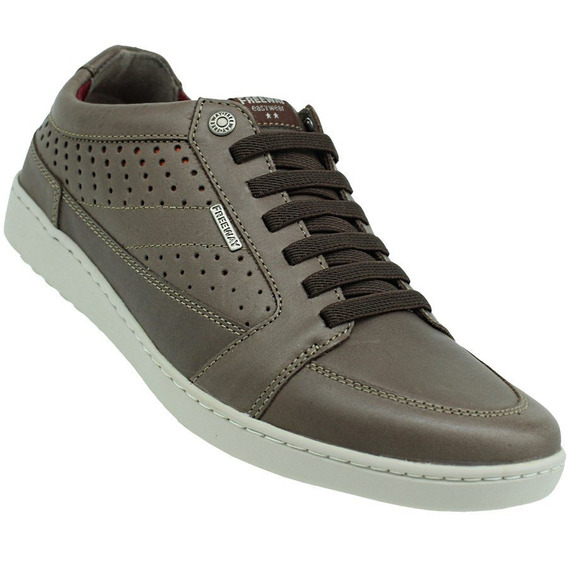 Sapatênis Freeway Runner Dry Leather Masculino