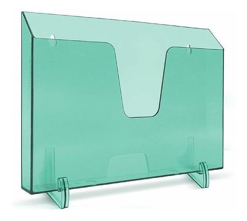Imagem 1 de 1 de Expositor Acrimet 862.3 Horizontal Verde Clear