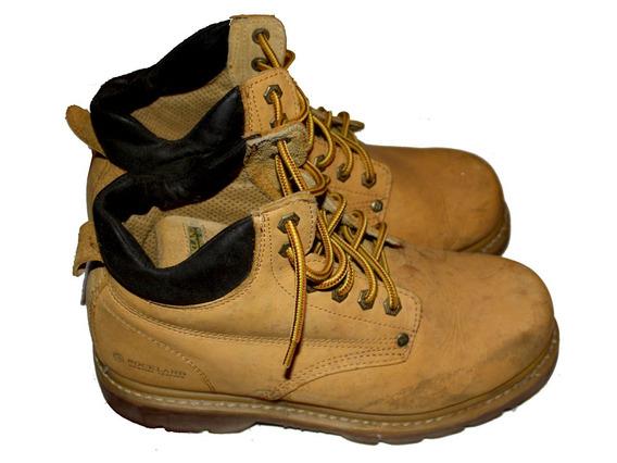 Botas Seguridad Rock Land Zapatos Caballero Cuero N° 42.5