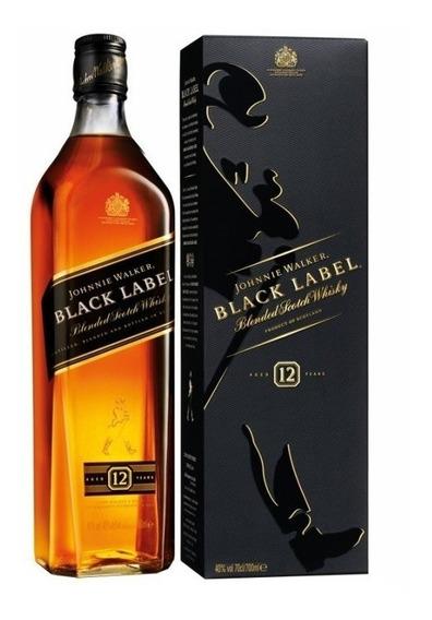 Whisky Johnnie Walker Etiqueta Negra 750ml Black Label