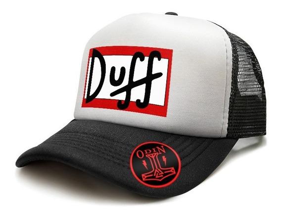 Gorras Trucker Personalizadas Duff Simpsons