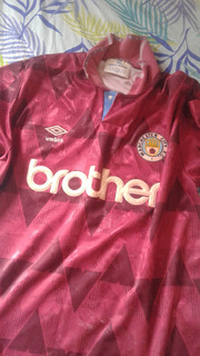 Camisa Manchester City Temporada 1993