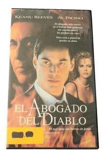 El Abogado Del Diablo Vhs Subtitulada 1997 Warner Mexico