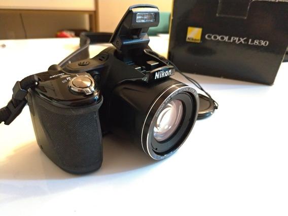 Câmera Digital Nikon L830 Semiprofissional