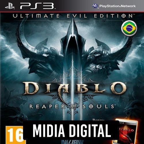 Diablo 3 Reaper Of Souls Dublado - Ps3 Psn*