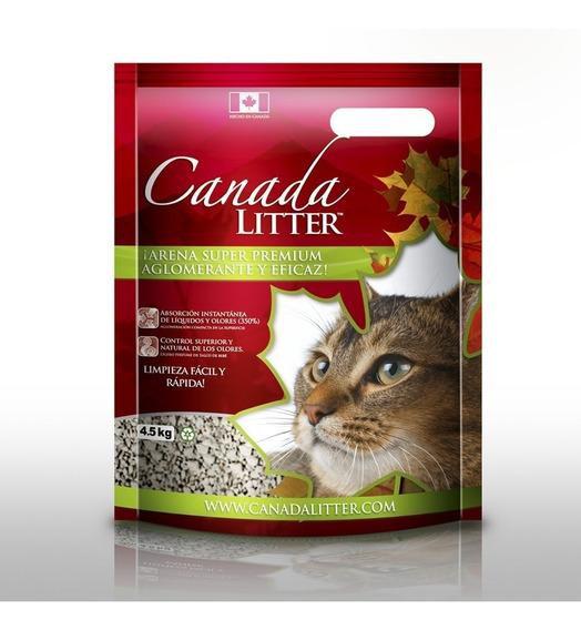 Arena Para Gatos Canada Litter 18 Kg
