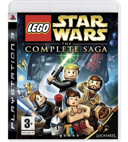 Lego Star Wars The Complete Saga - Mídia Física / Ps3
