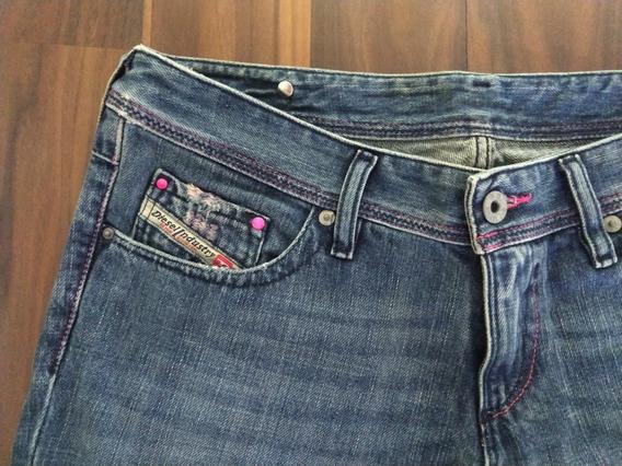 Calça Diesel Lowky Feminina Jeans 40 Azul Importada Original