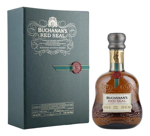 Whisky Buchanans Red Seal C/estuche Escoces