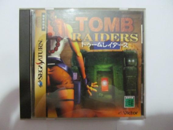 Jogo Sega Saturn Tomb Raiders Arte Som