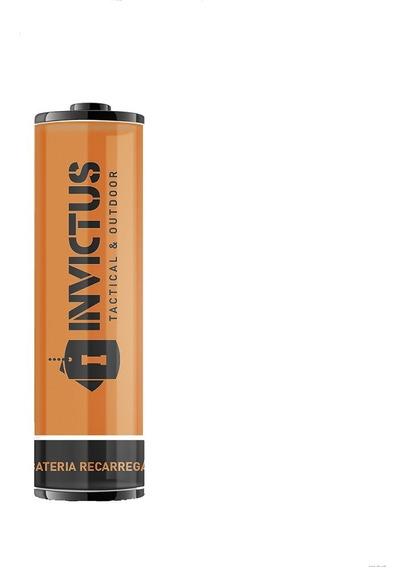 Bateria Recarregável Para Lanterna Invictus 14500