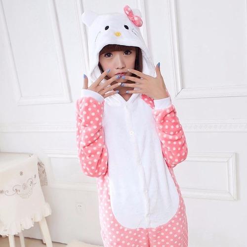 Pijamas Arcoiris Plush Unicornio Animales Hello Kitty