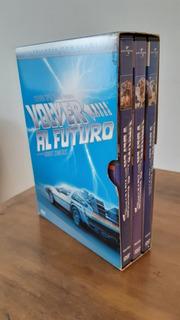 Trilogía Volver Al Futuro Colección Completa Original Nueva