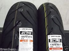 Par Pneu Dunlop 200/55-17 140/75-17 Harley Hd Fat Boy