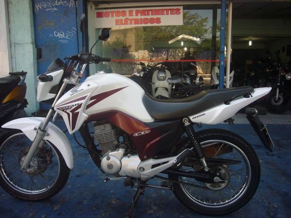 Honda Cg 150 Titan Esdi Branca R$ 7.999 Troco