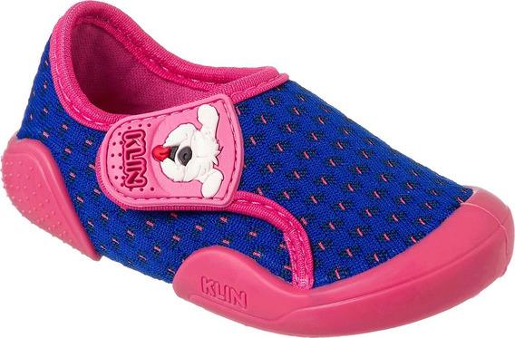 Sapato New Confort Klin Menina Pink