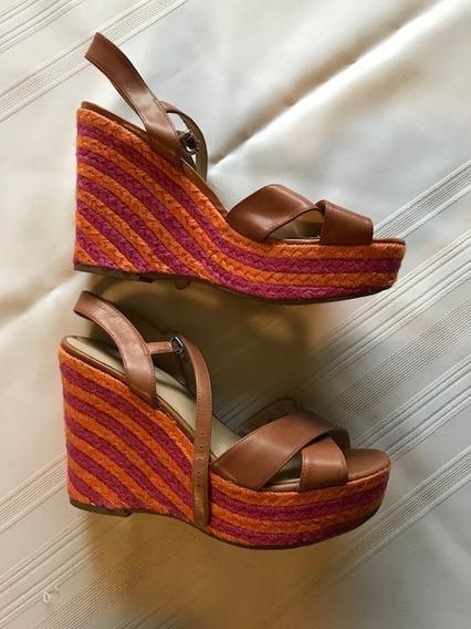 Zapato Taco Chino Plataforma Importado Talle 39